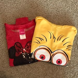 Other - 2 character lightweight sweatshirts!!!!